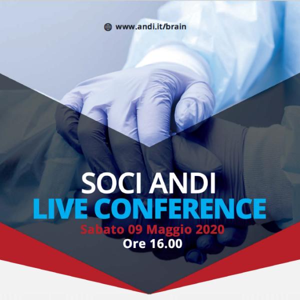 Live conference Sabato 9 Maggio 2020