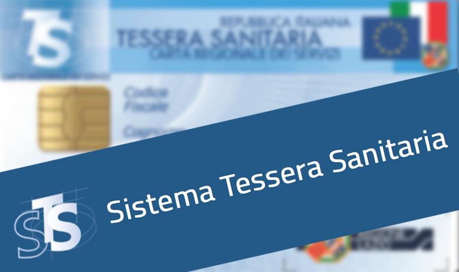 CIRCOLARE SISTEMA TESSERA SANITARIA